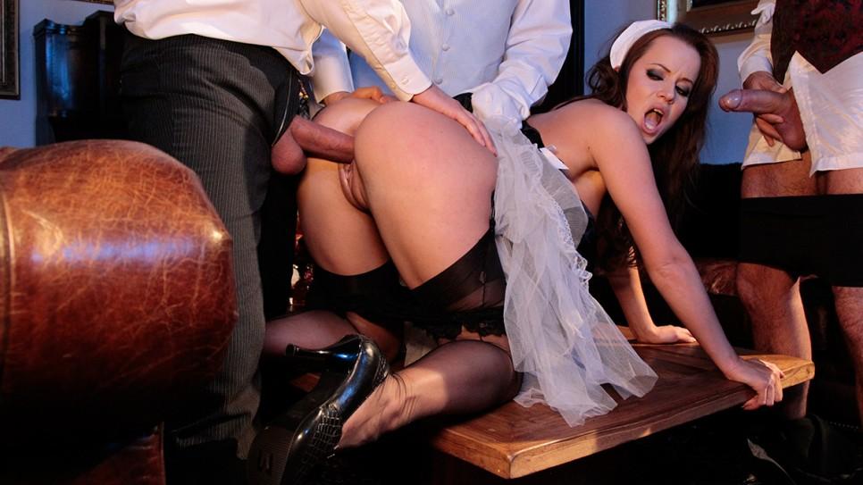 гувернанткой с анальный видео секс