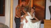 Jenny Baby trompe son mari le jour de la cérémonie 4