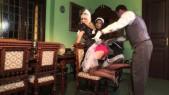 Cindy Dollar et Lena Cova : Deux soubrettes s'amusent avec le major d?homme  5
