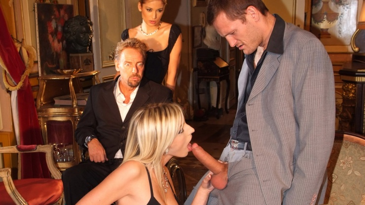Hot Stella Delcroix - The governess - Marc Dorcel